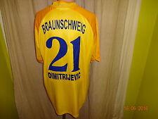 "Eintracht Braunschweig Jako Trikot 03/04 ""BS ENERGY"" + Nr.21 Dimitrijevic Gr.XL"