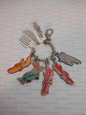 "Disneyland Cars Land FLO'S V-8 CAFE ""MOTORAMA GIRLS"" Disney Pixar Charm Keychain"