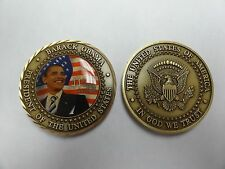 CHALLENGE COIN BARACK OBAMA 44TH PRESIDENT OF THE UNITED STATES GREAY SEAL RARE