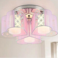Modern minimalist atmosphere heart-shaped led circular ceiling lamps