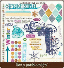 Fancy Pants Designs Arctic Chill Rub Ons