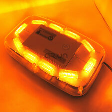 30W 30 LED WORK LIGHT BAR BEACON EMERGENCY WARNING STROBE LIGHTS AMBER 12/24V