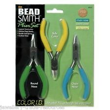 BEADSMITH Proffesional Plier & Cutter Set For Beading , Wire & Jewellery Making