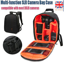 Camera Backpack Bag Waterproof Lens Case Rucksack For DSLR SLR Nikon Canon Sony