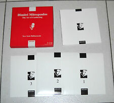 Box Set 3 Cd DMITRI MITROPOULOS The art of Conducting New York Philharmonic 2006