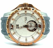 NOA Skandar Ronda Quartz 45mm Stainless Steel Rose Gold Plated Watch SK3H008