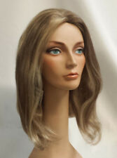 "CMC SK2 Long Stage Wig Skin Top (21"" 9 oz) Human Hair 114 (brown / blonde mix)"
