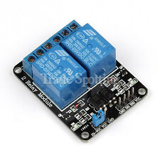 10PCS 5V 2 Channel Relay Module with optocoupler for PIC AVR DSP ARM Arduino