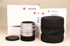 MINT- Leica 50mm f2 Summicron-M Lens 4th Chrome with box from Japan  #184