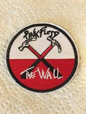 "3"" PINK FLOYD The Wall Iron On Embroidered Patch Free US Shipping Roger Waters"