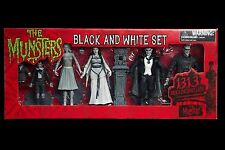 Movie statue tv Diamond Select The Munsters Black & White Action Figure set lily