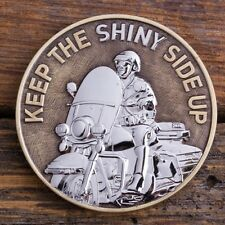 POLICE MOTORCYCLE OFFICER MOTOR UNIT LAW ENFORCEMENT SQUAD CHALLENGE COIN
