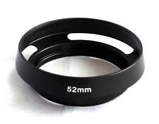 Metal Vented Lens Hood for Lens with 52mm Filter Thread MH-52