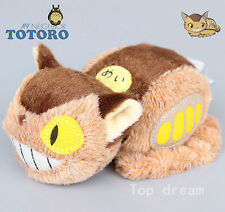 Genuine Anime Studio Ghibli My Neighbor Totoro Plush Cat Bus Soft Doll Toy 16CM