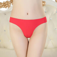 HOT Women Lady Sexy Knickers Thongs G String Briefs Underwear Panties Seamless