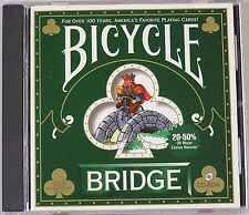 BICYCLE BRIDGE (3.5 INCH DISKETTE VERSION) PC GAME, Very Good Pc Video Games