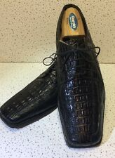 Stacy Adams Men's Leather Alligator Size 9 Dress Shoes.