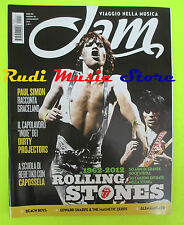 Rivista  JAM 193/2012 Rolling Stones Paul Simon Beach Boys Capossela * No cd