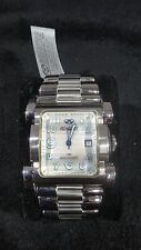 REACTOR Women's 83005 Ion Mother of Pearl Dial Stainless Steel Watch