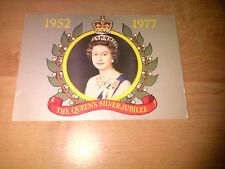 Queen sliver jubilee post card 1977 - unused but not mint - Peter Grugeon photo
