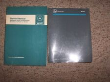 1954 Mercedes Benz 180D Shop Service Repair Manual 1.8L OM636 Diesel Engine