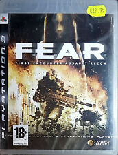 F.E.A.R: FIRST ENCOUNTER ASSAULT RECON Sony PlayStation 3 2007 -PAL-