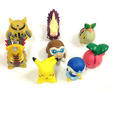 "Pokemon Advanced 2"" Anime Manga Monster Game Finger Puppet  Toy Figures lot"