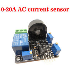 (Working DC5V) AC Current Sensor 0-20A Short Circuit Overcurrent Protection