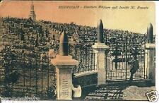 go 07 1935 Redipuglia (Gorizia) - Cimitero Militare Invitti III armata -viagg FP
