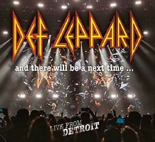 DEF LEPPARD-AND THERE WILL BE A NEXT TIME...LIVE FROM DETROIT  2CD+DVD NEW+