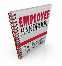 Employee Handbook with Employment Contracts & Company Policies-fully editable