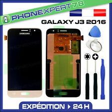 VITRE TACTILE + ECRAN LCD ORIGINAL SAMSUNG GALAXY J3 2016 OR GOLD + OUTILS