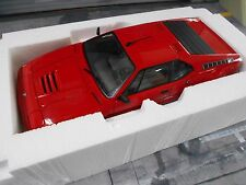BMW M1 Supersportwagen rot red 1979 HQ Norev RAR 1:18