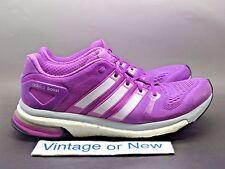 Women's Adidas Adistar Boost ESM  Flash Pink Clear Grey Purple Running sz 9.5