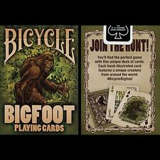 Bicycle Bigfoot Playing Card by US Playing Card Co Poker Spielkarten