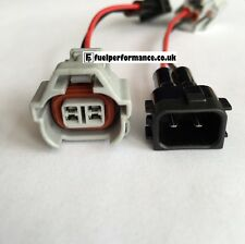 Plug n Play Fuel Injector Plug - DENSO TO HONDA OBD2  S2000 EP3 TYPE R WIRED