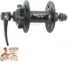 SHIMANO XT M756--36H--QUICK RELEASE AXLE DISC HUB BLACK BICYCLE FRONT HUB