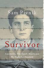 Survivor: Auschwitz - By Sam Pivnik - Paperback Book New