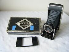 Agfa Ansco PD16 plenax Antar F14 Cámara Plegable Caja Original