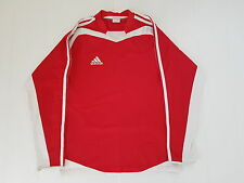 ADIDAS FRANCE ROUGE MAILLOT FOOTBALL PORTE WORN SHIRT VINTAGE MAGLIA CAMISETA