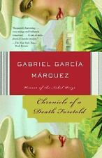 Chronicle of a Death Foretold by Gabriel Garcia Marquez