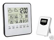 Digital Wireless Weather Station,indoor/outdoor Temperature,Humidity with sensor