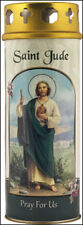 SAINT JUDE DEVOTIONAL HOLY CANDLE - 100's OF STATUES AND PICTURES ARE LISTED