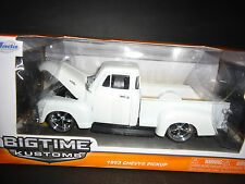 Jada Chevrolet Pickup 1953 White 1/24