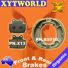 FRONT REAR Brake Pads Shoes for Yamaha RZ 125 1985