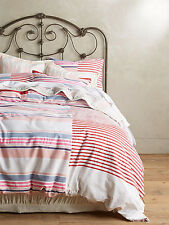 Anthropologie Makeda Queen Duvet Cover with 2 Standard Shams