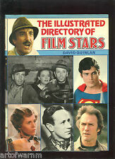 The Illustrated Directory of Film Stars  by Quinlan  HB/dj  1st ed, VG cond.