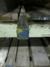 """Stainless Steel Square Bar Stock Type 304 1"""" x 12"""" Long"""
