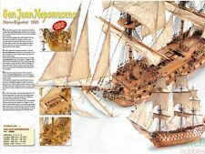 Artesania Latina 22860 1/90 SJ Nepomuceno Wooden Model Ship Kit LATB2860 GP