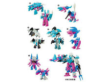 MISB in USA - Transformers Kabaya Piranacon Seacons Set of 6 Trading Figures